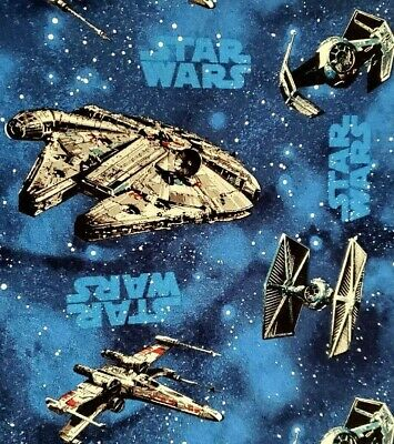 Star Wars Fighters Crib/Toddler bed Sheet, Handmade, 100% Cotton