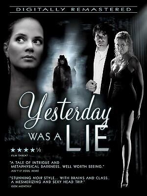 Yesterday Was A Lie DVD 2019 FREE SHIPPING preorder