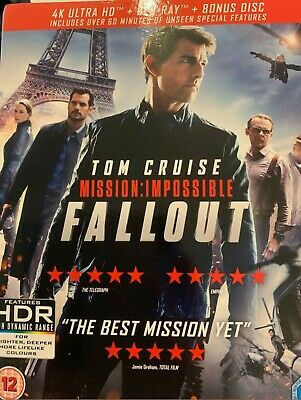 Mission: Impossible - Fallout (4K Ultra HD + Blu-ray+ Bonus Disc) [UHD]