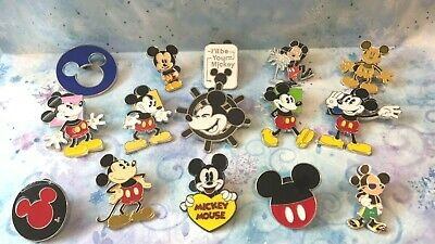 **MICKEY MOUSE** Lot of 15 Disney TRADING PINS
