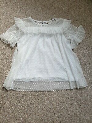 River Island Girls Pretty Top Blouse 11-12 Years