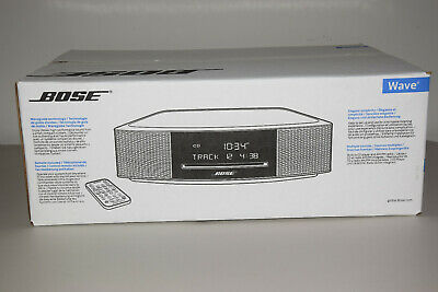 Bose Wave IV Music System MP3 CD Player AM/FM Radio Tuner Espresso Black Mint Co