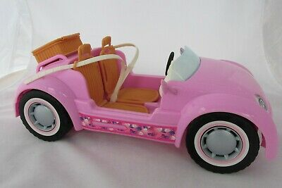 2006 Barbie Beach Glam Cruiser Pink Convertible Sports Car