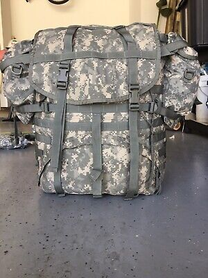 Us Military Army Issue Acu Molle Ii Large Ruck Sack Field Pack Backpack  Usgi