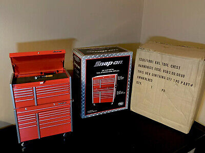 SNAP ON Micro KRL Tool Box Metal Heavy Weight Mini Money Box Very Rare Brand New
