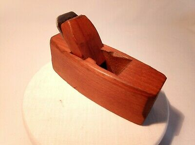 Vintage Small Wooden Coffin Hand Plane, Very Good Condition