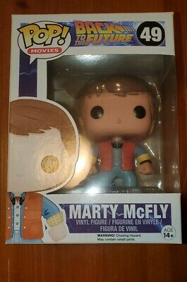 Marty McFly Funko Pop Movies #49 Back to the Future