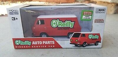 O'Reilly Auto Parts  Diecast 1960's Ford Econoline Toy  Van  18297/20000