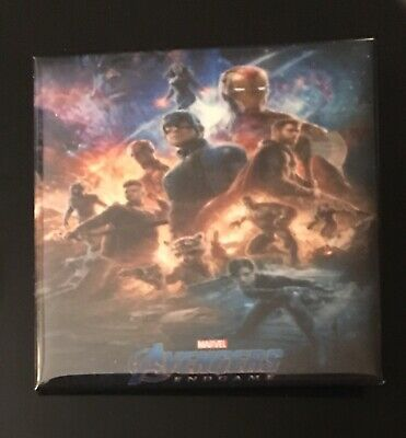 Marvel Avengers Endgame 2019 Pre-Release Promotion Pin Button Rare and HTF