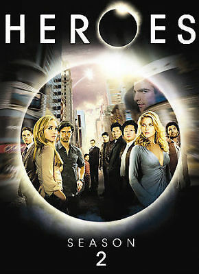 Heroes - Season 2 (DVD, 2008, 4-Disc Set), Brand New, Factory Sealed, Free Ship