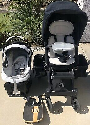 Orbit Baby G3 Black Stroller Car Seat  Sidekicker, Baby,Toddler Seat MSRP $2400