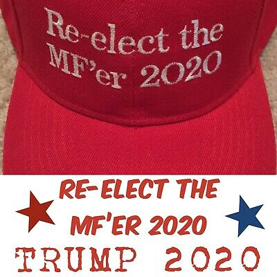 MAKE AMERICA GREAT AGAIN 2020 Inspired PARODY Re Elect Trump EMBROIDERED 2020
