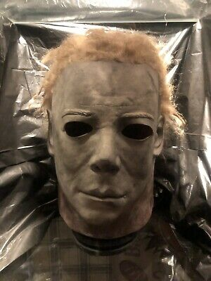 Michael Myers Mask Halloween Prop Not Leather Face Freddy Mask