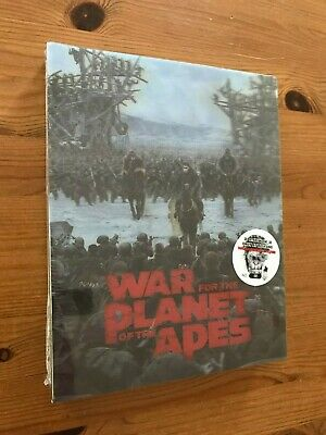 Blufans War for the Planet of the Apes OAB 4K Steelbook (Blu-ray) Sealed. Mint.