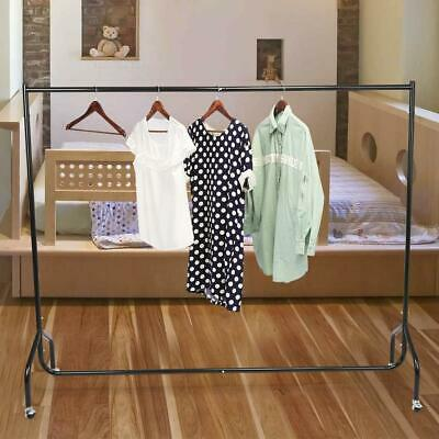Heavy Duty Garment Clothes Rail Hanging Display Stand Rack All Metal 4FT/5FT/6FT
