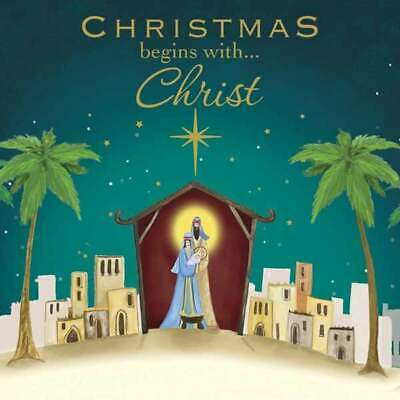 Christmas begins with Christ - Cards