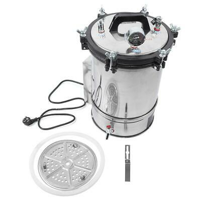 280CB 18L Portable Stainless Steel Autoclave Sterilizer Auto Medical Sterilizer