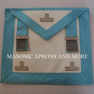 Craft Worshipful Master (WM) Apron with Pocket (Lambskin)