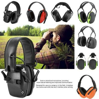 Foldable Electroinc  Earmuff Noise Reduction Hearing Protector For Shooting