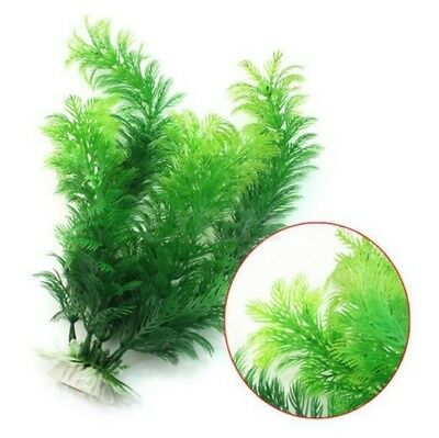 Fish AquariumAquarium Décor vert Plante Artificielle Plastique Water Plant 30cm#