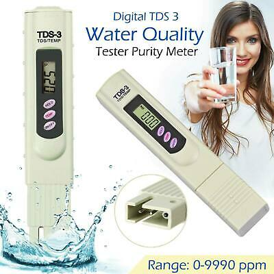 Digital TDS3 PPM Meter Home Drinking Tap Water Quality Purity Test Tester USA