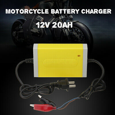 Smart Automatic Battery Trickle Charger For Motorcycle 12V 2A 20Ah