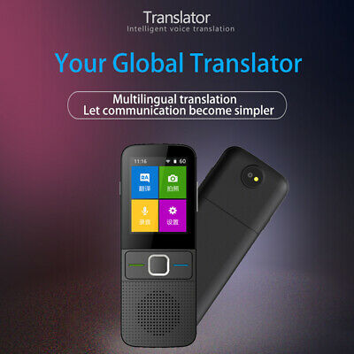 Portable Real Time Smart Voice WIFI Off Line Communication Language Translator
