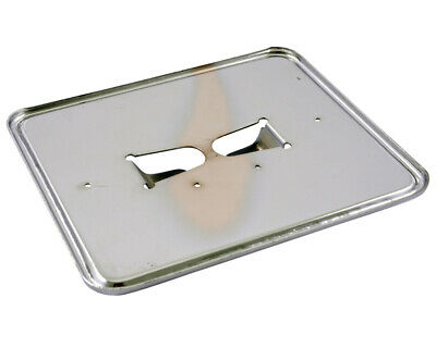 Support de Plaque D'Immatriculation Plaque en Chrome 145x125 MM