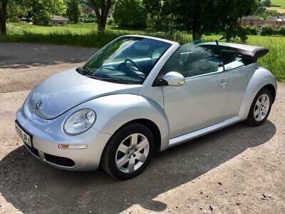 2006/06 Volkswagen Beetle 1.6 Luna Petrol Convertible Manual 2 Owners From New