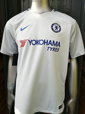 BNWT Authentic Nike Chelsea 2017-18 Away Football Shirt. Large.