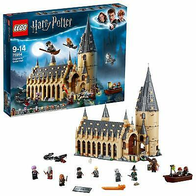 75954 LEGO Harry Potter Hogwarts Great Hall Building Set Wizarding World Boxed