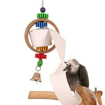 Paper Dispenser Shreddable Parrot Toy African Grey Amazon