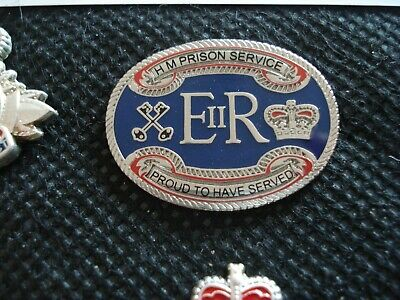 Hm Prison Service Proud To Have Served Pin Badge