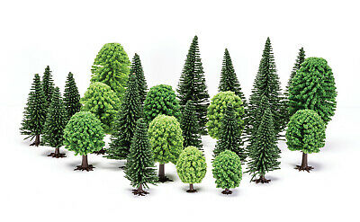 Hornby Hobby Mixed (Deciduous and Fir) Trees R7201 OO Gauge Model Railway