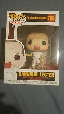 Funko Pop! Vinyl Figure-Movies Bloody Hannibal Lecter Silence of the Lambs # 788