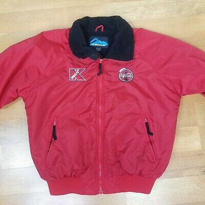 Cocacola Kmart Jacket Red Streetwear Large Cocacola Coke Kmart Company Red