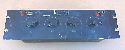 General Radio 1454-A Precision Decade Voltage Divider Genrad Keithly 0-100,000O
