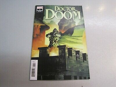 Doctor Doom #1 1:10 Deodato Variant *minor scuff damage on front cover*