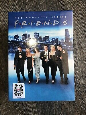 Friends: The Complete Series (DVD, 2019, 32-Disc Collection) NEW FREE SHIPPING