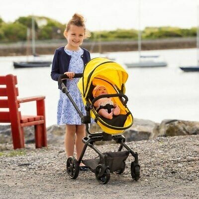 2-In-1 Doll Stroller And Carrycot Pushchair Baby Pram Buggy Girls Toy Kids Gift