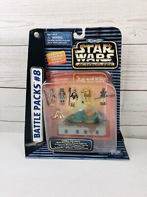 Galoob Micro Machines Star Wars Action Fleet Battle Packs #8 Desert Palace NIP