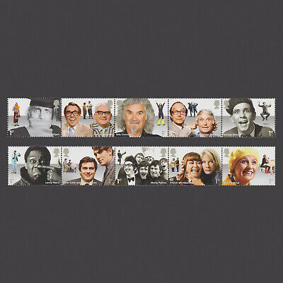 2015 Comedy Greats Mint Stamp Set