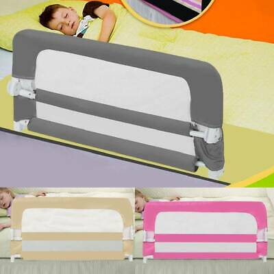 Baby Bed Safety Rail Guard Kid Toddler Infant Sleeping Play Protection 100~150cm