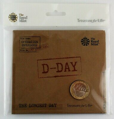 2019 Royal Mint D-Day Landings 75th Anniversary BU Two Pound £2 coin Pack SEALED