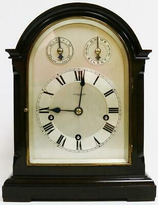 Antique Mahogany 3 Train 5 Gong Musical Westminster Chime W&H Bracket Clock