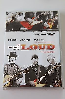 It Might Get Loud - The Edge Jimmy Page Jack White ( Dvd 2010 ) Rock Documentary