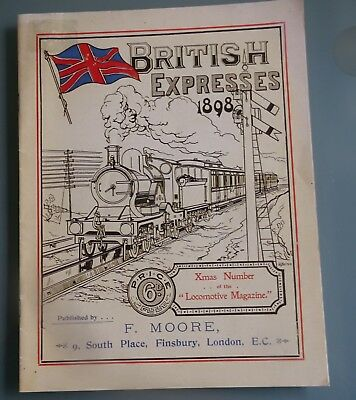 British Expresses 1898 - Xmas Number of the Locomotive Magazine (reprint) Trains
