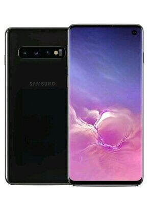 *Samsung Galaxy S10 Plus 128GB Dual Sim  Unlocked Prism Black & White