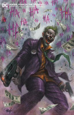 Joker Year Of The Villain #1 Parrillo Yotv Min Trade Variant Dc Comics Batman