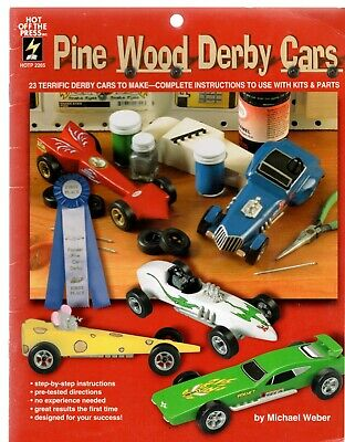 Pine Wood Derby Cars book (23 Derby Cars to Make)